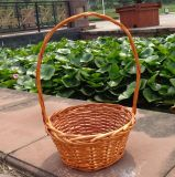 (BC-WF1035) Cesta de flores natural hecha a mano respetuosa del medio ambiente del sauce