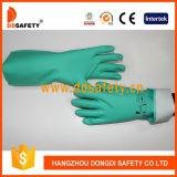 De hoge Handschoen van de Weerstand van het Comfort Chemische voor Waaier van Toepassingen DHL445