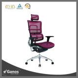 Cadeira ergonómica do escritório do engranzamento da parte traseira da elevação do giro do projeto de Aeron