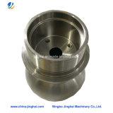Usinage CNC non standard Partie Connecteur pneumatique circulaire en métal / aluminium / laiton