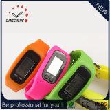 Lo sport astuto della vigilanza del pedometro guarda il braccialetto di promozione (DC-001)