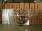 exaustor 380V com a grelha feita no ventilador Energia-Perdido pequeno do baixo ruído de China