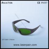 ダイオードおよびNDの高い光学濃度: Eyewearを保護するYAGのレーザーの安全のゴーグルは/波長を保護する: 800-1700nm