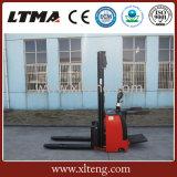 Preço elétrico cheio do empilhador de Ltma 1.5t com cor agradável