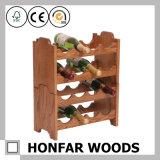 棒家具またはスーパーマーケットラックのための8本のびんの木製ラック