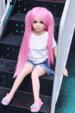 Doll van het Geslacht van de Borst TPE van Doll van de Liefde van het Silicone van 100cm Vlak