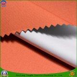 Tela revestida tejida tela casera de la cortina del franco del paso del poliester 3 de la cortina del apagón de la materia textil