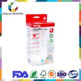 Rectángulo plástico de gama alta para el producto de cuidado de piel