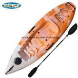 Se reposer sur de premiers petits meilleurs prix simples de kayak d'embarcations plastiques