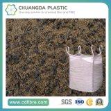 上の大きい容器のジャンボバルク砂袋を開きなさい