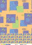 Het Buitensporige Tafelkleed van het Huwelijk van het Hotel LFGB Decoratieve Ronde pvc Afgedrukte met Steun