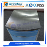 Hospital Beside Cabinet for Hospital Room with Castors with Stainless Steel on The Top (GT - TA036)