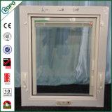 플라스틱 PVC 목욕탕을%s 두 배 유리제 수동 크랜크 차일 Windows