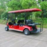 Тележка гольфа 6 пассажиров электрическая для гостиницы и поля для гольфа