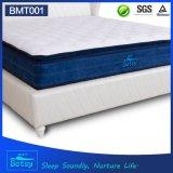 OEM de alta calidad Dreamland colchón de 30 cm de altura con relajante Pocket Spring y masaje onda espuma capa