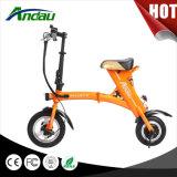 motociclo elettrico del motorino piegato bici elettrica di 36V 250W