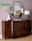 Nuevo espejo de forma irregular diseñado del colgante de pared en precio barato con los bordes biselados