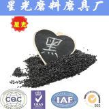 Granulation noire de granules d'oxyde d'aluminium de soufflage de sable de fournisseur de la Chine