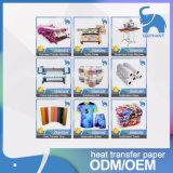 Papel de transferência de venda quente do Sublimation da tintura da qualidade superior para a matéria têxtil de Digitas