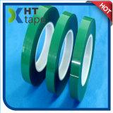 El verde material eléctrico termina la cinta