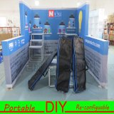 Handel van de Tentoonstelling van het Aluminium van de douane toont de Standaard Modulaire TextielCabine