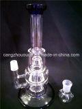 cachimbo de água de vidro de Shisha do tabaco da fábrica da-75 China para a tubulação de fumo de vidro da água