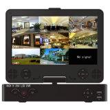 """8CH 7 """"モニタH. 264 CCTV LCD 1080P車のカメラコンボWdm DVR"""