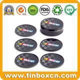 Metal Tin Cork Coaster, estera de la Copa Estera, Tin Pad