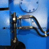 Máquina de dobra hidráulica da placa da indicação digital de Wf67y 160t/4000