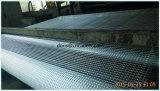 또는 포장 도로 도로 침대를 위한 섬유 유리 Geogrid를 사용하는 강화하는
