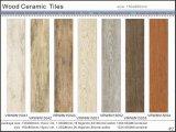 Matériau de construction Tile Azulejo De Piso en bois en céramique (VRW6N1503, 150X600mm)