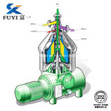 Fuleオイルの遠心分離機のための油分離器機械Cys