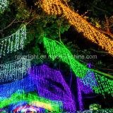 Kerstmis van de Bel van het water steekt het Licht van de Waterval voor de Decoratie van de Muur aan