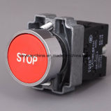 MetallEmergency Typ Drucktastenschalter mit Keilnute-Marke