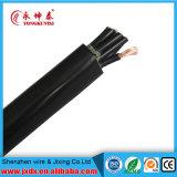 De ElektroKabel van pvc, Kabel van de Macht van pvc de Flexibele