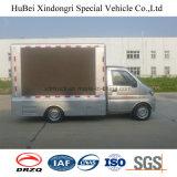 좋은 품질을%s 가진 Euro4 Dongfeng 3.5cbm 이동할 수 있는 광고 트럭