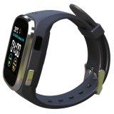 Horloge van het Scherm van de Aanraking van 1.54 Duim het Waterdichte Slimme IP65 met Dubbele GSM van Banden & wi-FI, GPS & het Dynamische Tarief van het Hart, ECG, De Controle van de Bloeddruk, het Sedentaire Eraan herinneren. 1
