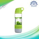 Haut-parleur fort professionnel sans fil de forme imperméable à l'eau portative de bouteille