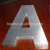 屋外広告のステンレス鋼の文字の印3Dの文字
