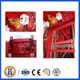 Dispositif de sécurité de frein de secours pour l'élévateur de construction d'ascenseur de crémaillère