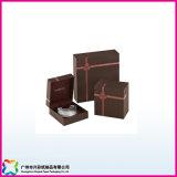 Qualitäts-preiswerter faltender Papierschmucksache-Kasten