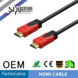 Câble sonore à grande vitesse du vidéo HDMI du support 1.4V 4k*3D de Sipu