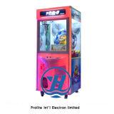 Máquina de juego premiada de la venta de la grúa de la garra del nuevo del estilo 2017 de la moneda regalo del empujador (ZJ-CG32)