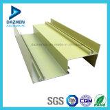 Powder Coated Perfil ventana de la puerta de aluminio de aluminio extruido con varios colores