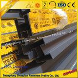 Corrimão de alumínio personalizado do perfil da extrusão para o balcão na construção
