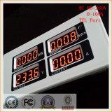 Acceso del contador de Digitaces de la energía de la potencia del amperímetro del voltaje la monofásico LED 100A de la CA TTL