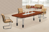Tabella di congresso antica di legno solido della mobilia dell'ufficio progetti