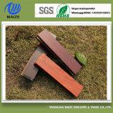 De houten Deklaag van het Poeder van het Profiel van het Aluminium van het Effect van de Korrel met de Certificatie van ISO