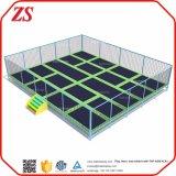 Gimnasia de interior del juego del trampolín de los niños tamaño pequeño para la venta
