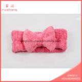 Accessori svegli dei capelli del panno morbido della fabbrica della fascia di corallo della donna